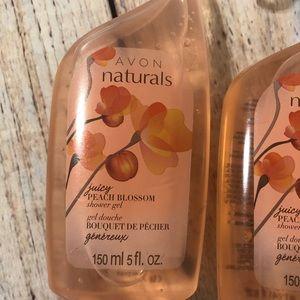 Avon Bath & Body - Lot/4 Avon Naturals shower gel wash